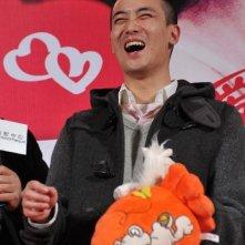 Il regista Tsang Kwok Cheung alla premiere cinese del suo Lover's Discourse