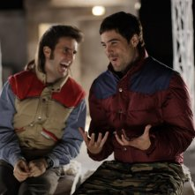 Julián López  con Unax Ugalde nella commedia No controles