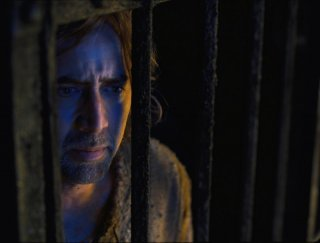Nicolas Cage in un primo piano tratto da Season of the Witch
