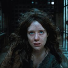 Primo piano di Claire Foy dal film Season of the Witch