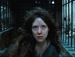 Primo piano di Claire Foy dal film Season of the Witch