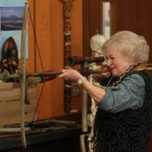 Betty White in una scena dell'episodio Anthropology 101 di Community