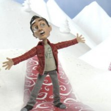 Danny Pudi in versione animata nell'episodio Abed's Uncontrollable Christmas di Community