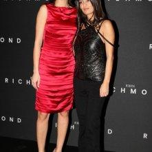 Anna Safroncik e Alessandra Moschillo in occasione di una sfilata di Richmond.