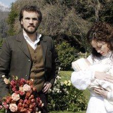 Danilo Brugia e Gabriella Pession in una scena della serie Rossella