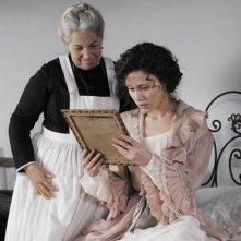 Gabriella Pession in una scena della serie Rossella