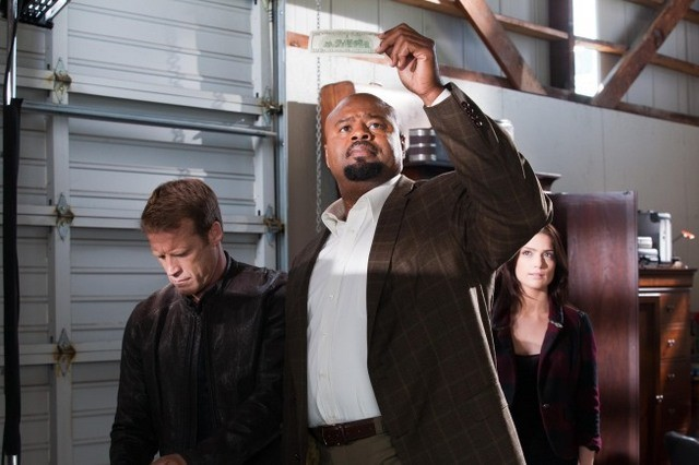 Mark Valley E Chi Mcbride Nell Episodio Dead Head Di Human Target 188540