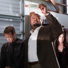 Mark Valley e Chi McBride nell'episodio Dead Head di Human Target
