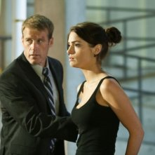 Mark Valley e Janet Montgomery nell'episodio Taking Ames di Human Target