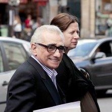 Martin Scorsese sul set di Hugo Cabret