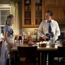 Chloe Sevigny e Bill Paxton in una scena della stagione 5 di Big Love