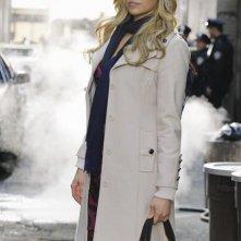 Laura Prepon in una scena dell'episodio Nikki Heat in Castle