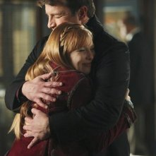 Nathan Fillion e Molly Quinn nell'episodio Last Call di Castle