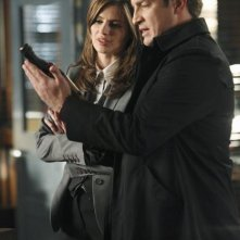 Nathan Fillion e Stana Katic nell'episodio Last Call di Castle