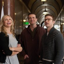 Cameron Diaz, Justin Timberlake e Jason Segel in una scena di Bad teacher