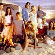 Foto del cast della prima stagione di The O.C.