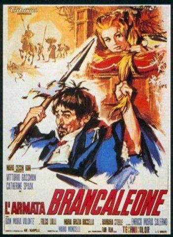 La locandina di L\'armata Brancaleone