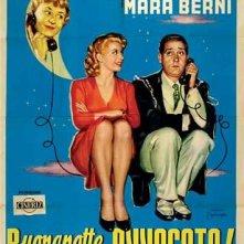 Locandina del film Buonanotte... avvocato! ( 1955 )