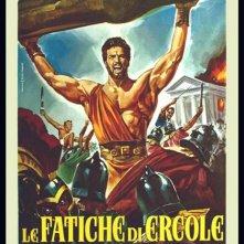 Locandina italiana del film Le fatiche di Ercole