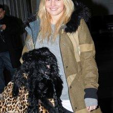 Jessica Simpson arriva al JFK Airport