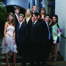 Un'immagine promozionale del cast della prima stagione di The O.C.