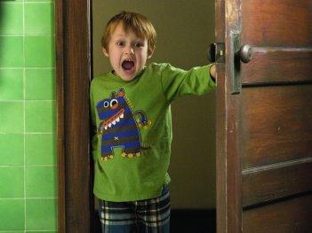 Il piccolo Colin Baiocchi in una immagine di Vi presento i nostri