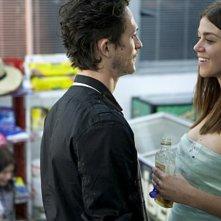 Jonathan Tucker ed Adrianne Palicki in una scena dell'episodio The Thirteenth Step di Criminal Minds