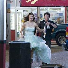 Jonathan Tucker ed Adrianne Palicki nell'episodio The Thirteenth Step di Criminal Minds