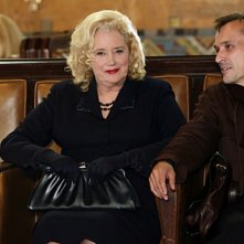 Sally Kirkland e Robert Knepper nell'episodio Reflection of Desire di Criminal Minds