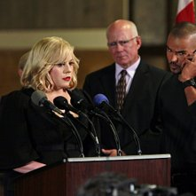 Shemar Moore e Kirsten Vangsness in una scena dell'episodio Reflection of Desire di Criminal Minds