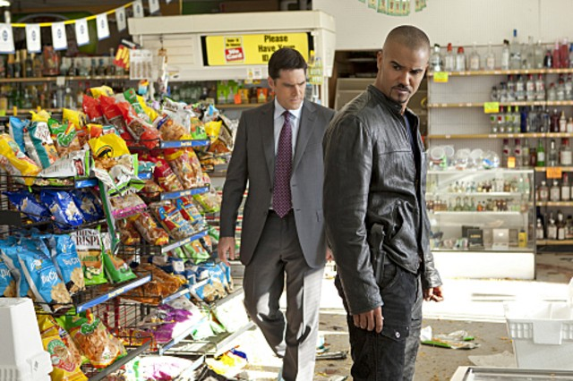 Thomas Gibson E Shemar Moore Nell Episodio The Thirteenth Step Di Criminal Minds 189024