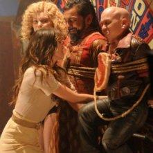 Una scena dell'episodio Tarot di The Cape