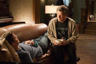John Noble e Joshua Jackson nell'episodio Firefly di Fringe