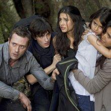 La famiglia Shannon nel pilot della serie Terra Nova