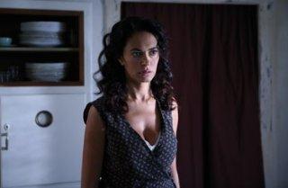 Maria Grazia Cucinotta, protagonista femminile del film Un giorno della vita