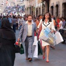 Paul Giamatti e Minnie Driver in una scena del film Barney's Version