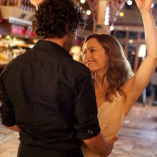 Romain Duris e Vanessa Paradis in un momento del film Heartbreaker