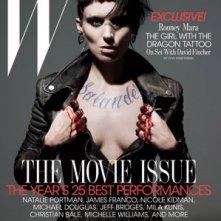 Copertina dedicata alla nuova Lisbeth Salander/Rooney Mara di The Girl with the Dragon Tattoo