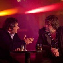 Gérard Lanvin e Olivier Marchal in una scena del film Le fils à Jo