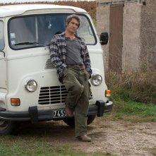 Gérard Lanvin nei panni di Jo nel film Le fils à Jo