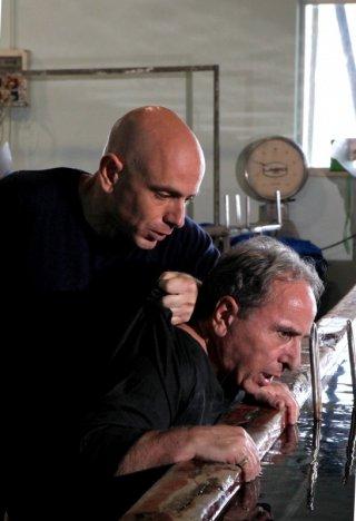Rolando Ravello ed Ernesto Mahieux in un'immagine de La nuova squadra