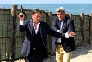 Tony Sperandeo e Antonio Milo in un'immagine de La nuova squadra