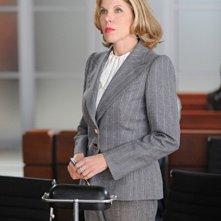 Christine Baranski nell'episodio Poisoned Pill di The Good Wife