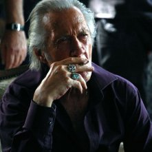 David Carradine in un'immagine del film Stretch