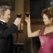 Francesca Cavallin in una scena della fiction Rossella