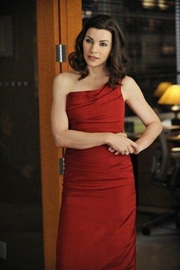 Julianna Margulies nell'episodio VIP Treatment di The Good Wife