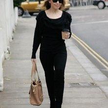 Kylie Minogue esce di casa