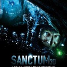 La locandina italiana di Sanctum 3D