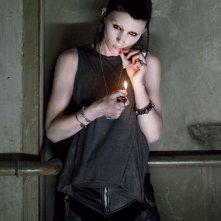 Rooney Mara nei panni di Lisbeth Salander in The Girl with the Dragon Tattoo