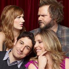 Una foto promozionale del cast della serie Mad Love